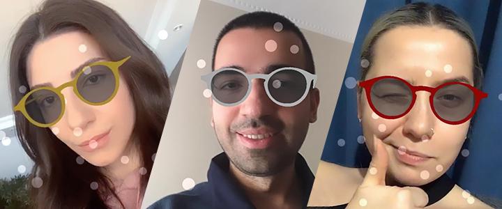 Eye Connection Instagram AR Filtresi ile Pandemi Döneminde Online Satışlarını Destekledi