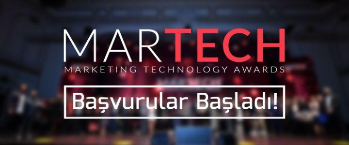 MarTech Awards 2021 Başvuruları Başladı!