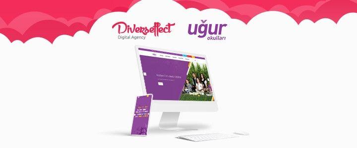 Uğur Okulları Web Sitesine Diverseffect İmzası