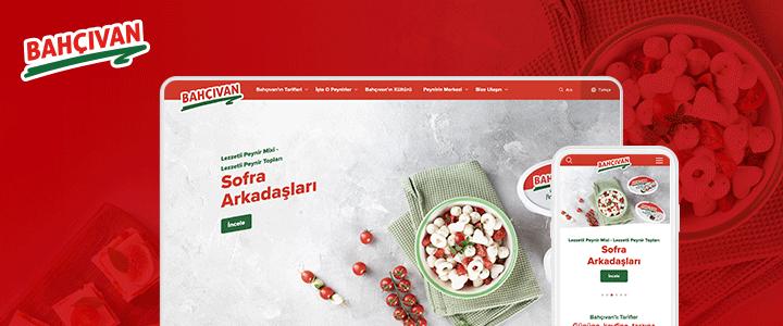 Bahçıvan Peynir'in Tariflere İlham Veren Web Sitesi Yayında