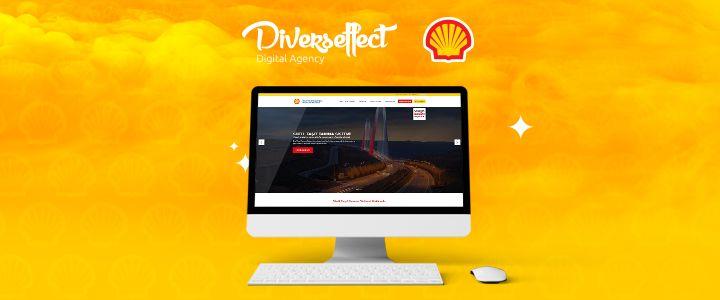 """""""Shell Taşıt Tanıma"""" Web Sitesi, Diverseffect Yaratıcılığıyla İnşa Edildi!"""