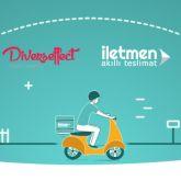 Yeni Nesil Teslimat Şirketi İletmen, Diverseffect İle Anlaştı!