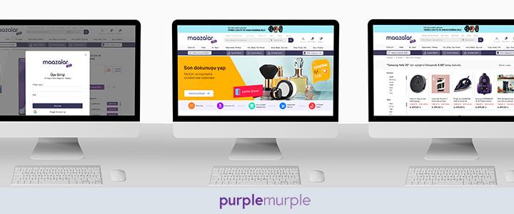 Türkiye'nin Yeni Pazar Yeri Maazalar.com, Purplemurple İmzasıyla İnşa Edildi