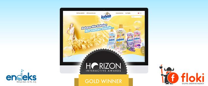 FLOKİ, Horizon Interactive Awards'ta Gold Winner Ödülünün sahibi oldu!