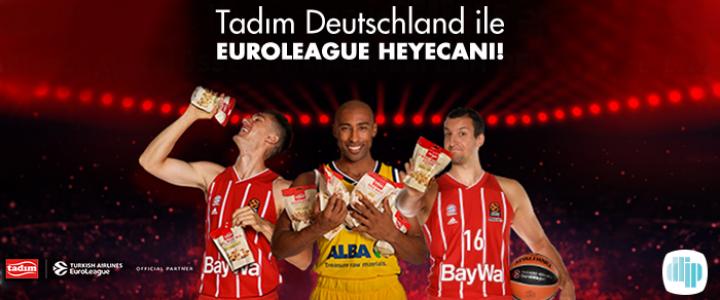 ddip digital / design / istanbul / paris, Tadım Deutschland'ın EuroLeague Heyecanına Ortak Oldu!