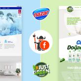 Nazar Kimya ve Just Green Organic Web Siteleri Floki Creative tarafından yenilendi!
