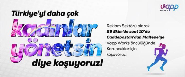 Türkiye'yi daha çok kadın yönetsin diye koşuyoruz!