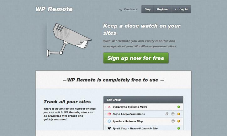Wordpress yönetim paneli çoklu siteler wpremote