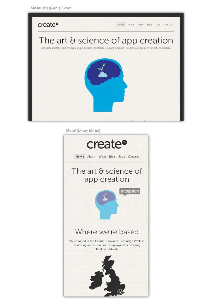 Mobil uyumlu websitesi tasarım örnekleri 20