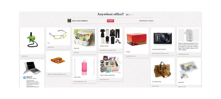 Pinterest Yarışmaları HP
