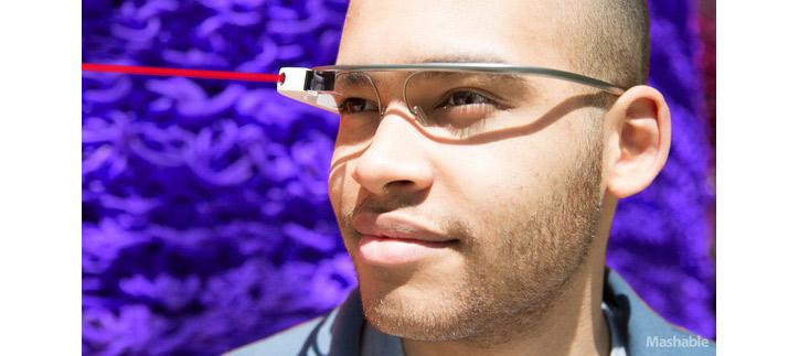 Google Glass lazer