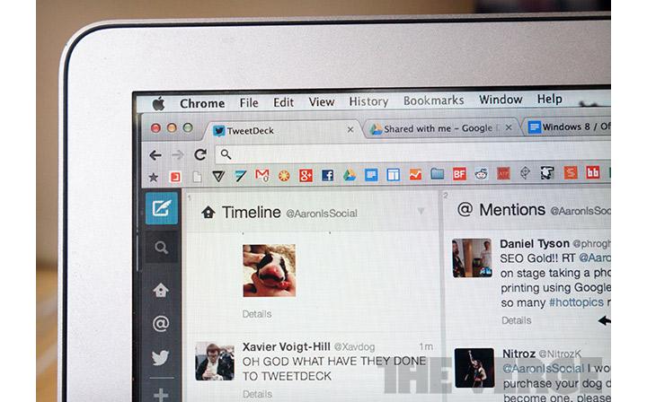 tweetdeck web tabanli