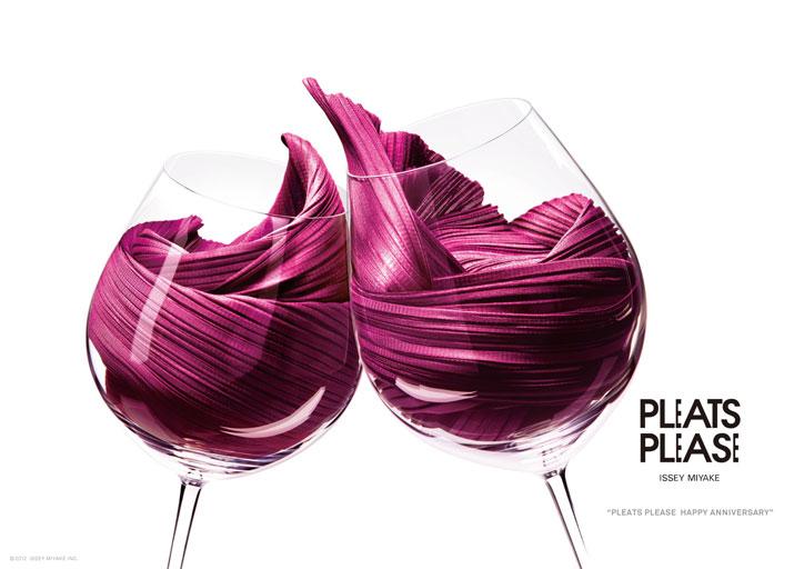 şarap moda reklamı