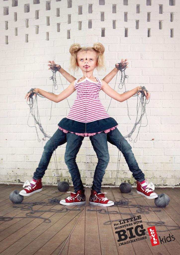 yaratıcı çocuk modası