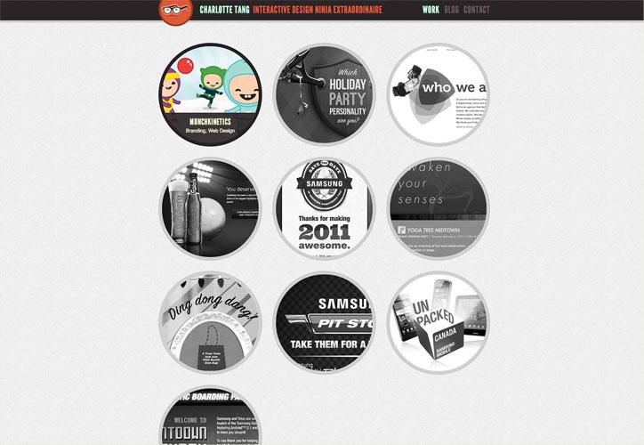 yaratıcı web tasarımcı charlottetang