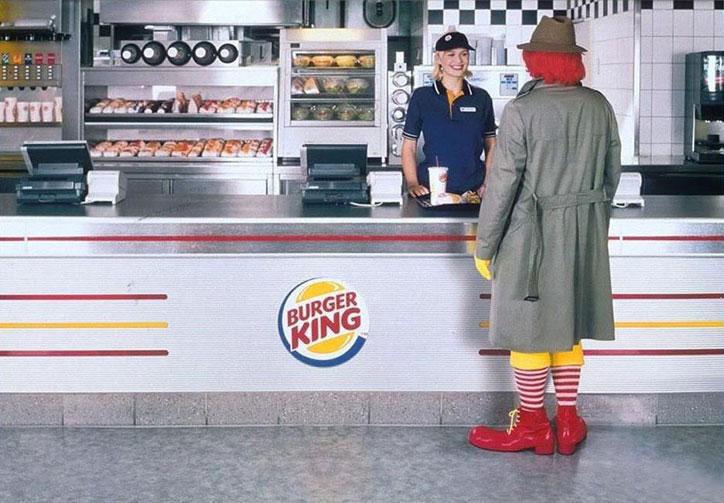 karsilastirmali reklam burger king