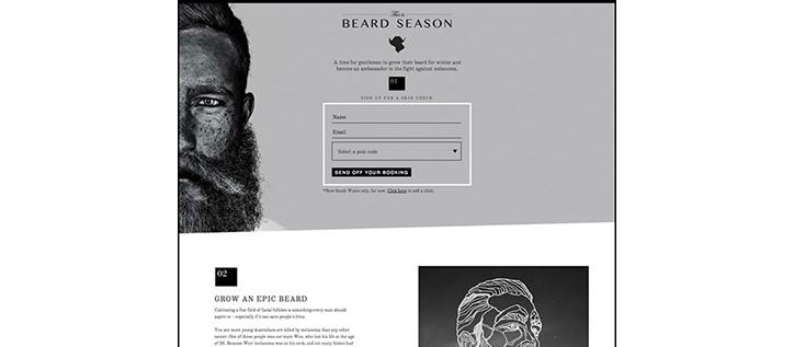 minimal renkli web sitesi örnekleri