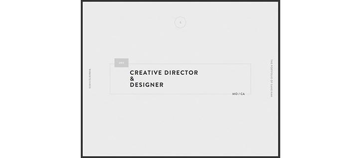 renkli minimalist web tasarım