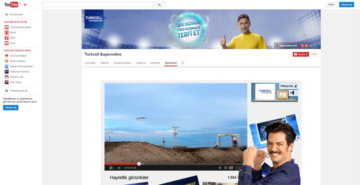 turkcell superonline custom gadget youtube