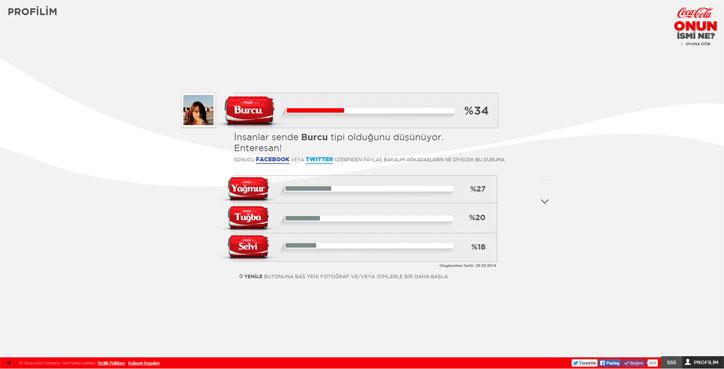 coca-cola interaktif kampanya