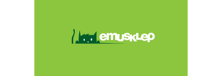Emusklep flat logo