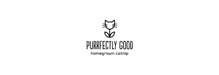 Purrfectly-good logo tasarımı