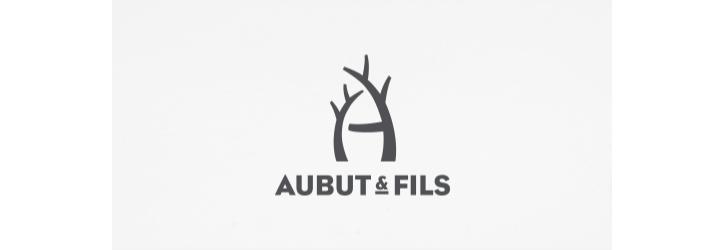 aubut-fils flat logo tasarımı