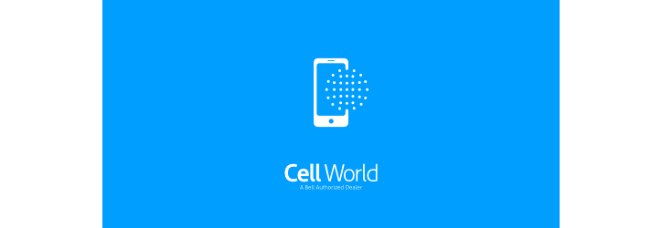 cell-world flat logo örneği