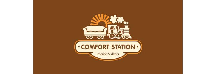 comfot-Station logo tasarımı
