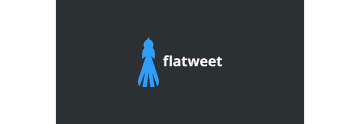 flatweet logo tasarımı
