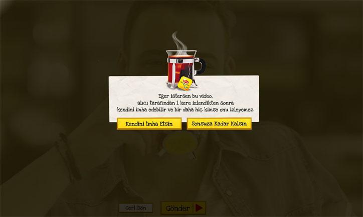lipton dijital kampanya