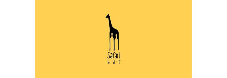 safari-bar Flat Logo Örnekleri