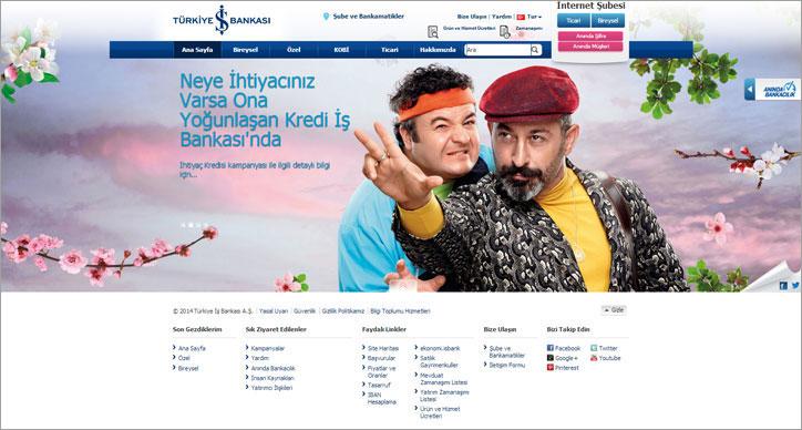 türkiye iş bankası yeni web sitesi