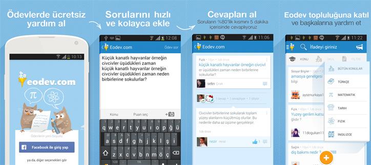 eodev mobil uygulama