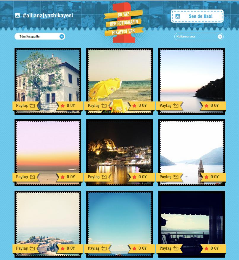 Allianz Instagram Yarışması