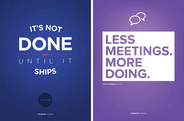 girişimciler için poster tasarım örnekleri