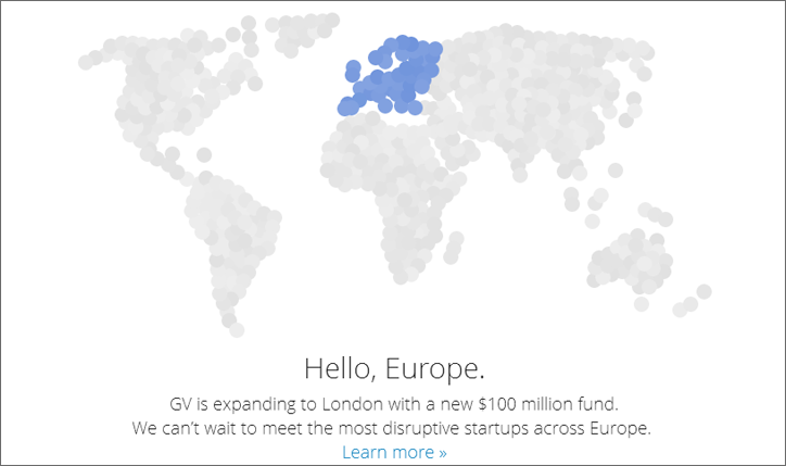 google ventures avrupa