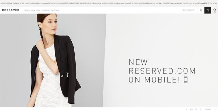 moda markaları web sitesi tasarımı reserved