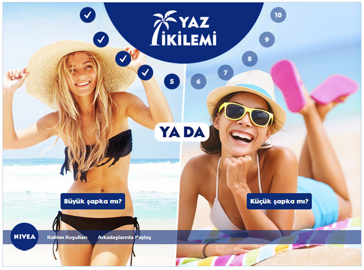 nivea facebook kampanyası
