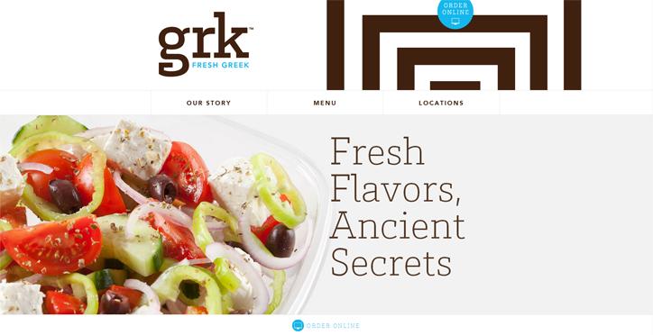 restoranlar web sitesi örnekleri grk