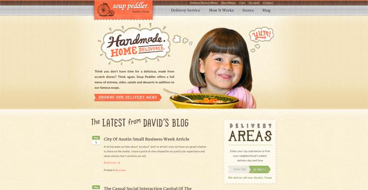 web sitesi örnekleri soup peddler