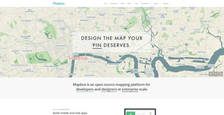 web tasarımda başarılı renk kullanımı mapbox