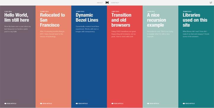web tasarımda başarılı renk kullanımı örnekleri minimal monkey