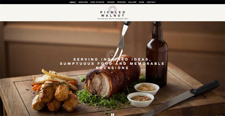web tasarımda başarılı renk kullanımı örnekleri pickled walnut