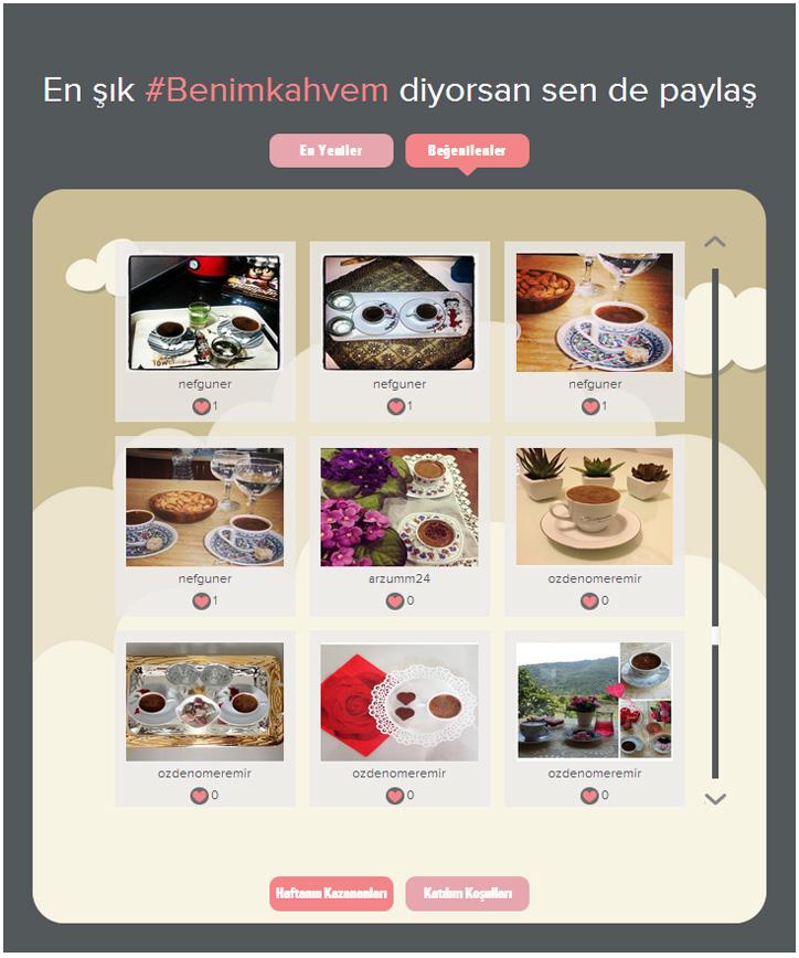 kütahya porselen instagram kampanya