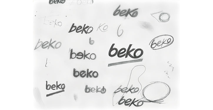 beko yeni ve dinamik logo tasarımı