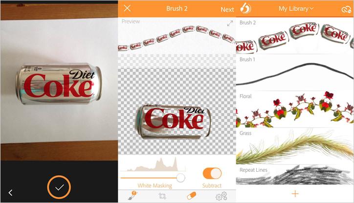 dijital desen oluşturan uygulama adobe brush