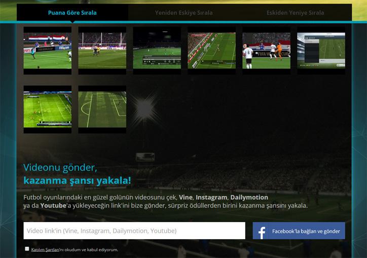 logitech futbol uygulaması replay