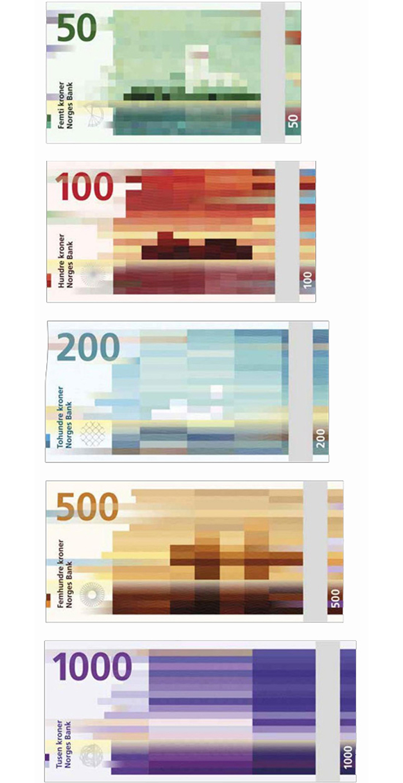 norveç banknot tasarım