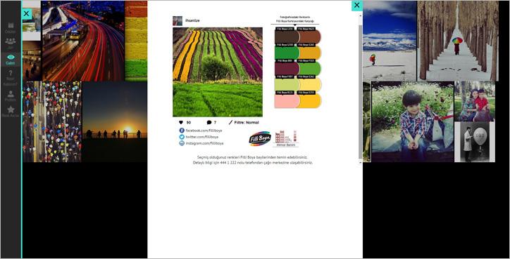 Filli Boya Instagram Yarışması RenkAvcıları